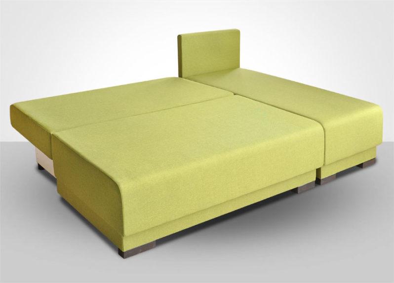 Диван-кровать малый угловой Комбо 1 (МДУ) (ПрБл)