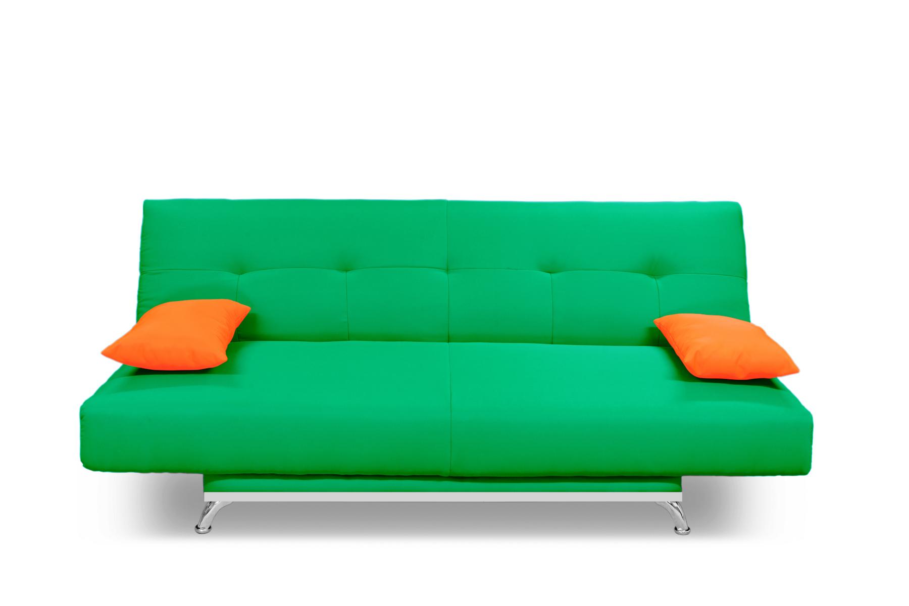 Диван MANGO  2 Зеленый/оранж