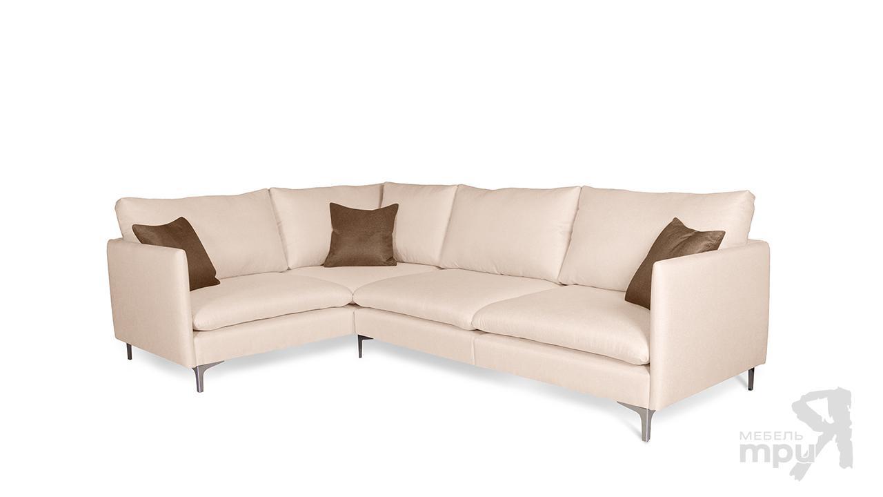 Диван «СОХО» (угол левый/правый) +3 подушки П4