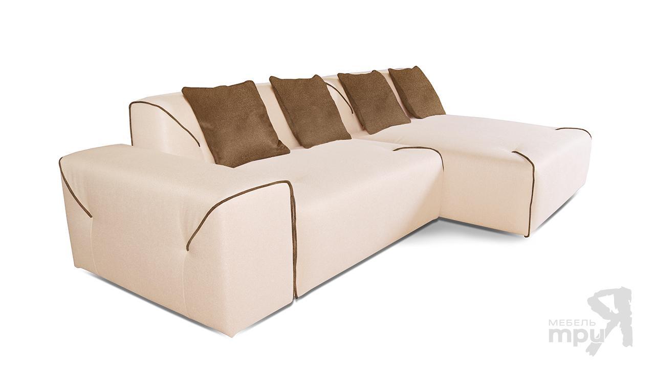 Диван «ПОРТУ» (угол правый/левый) +4 подушки П7