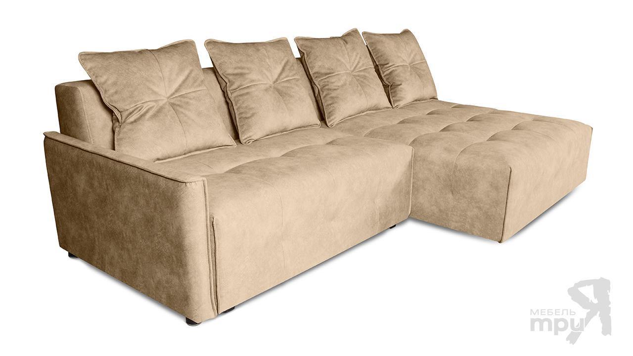 Диван «БРОНКС» (угол правый/левый) + 4 подушки