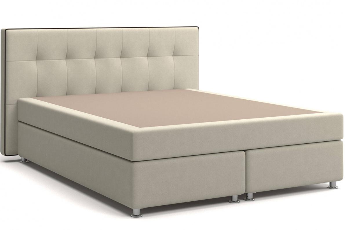 Кровать Николетт Box Spring (с матрасом) Арт: 2018030270536
