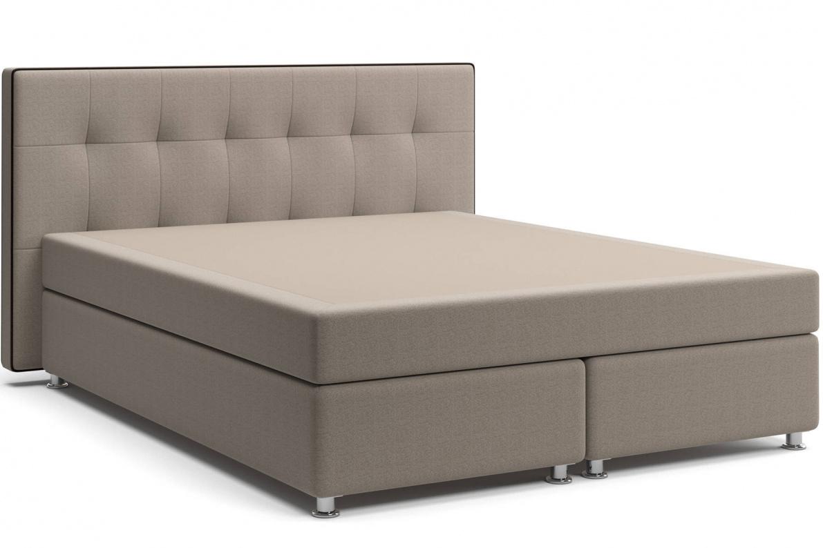 Кровать Николетт Box Spring (с матрасом) Арт: 2018030240536