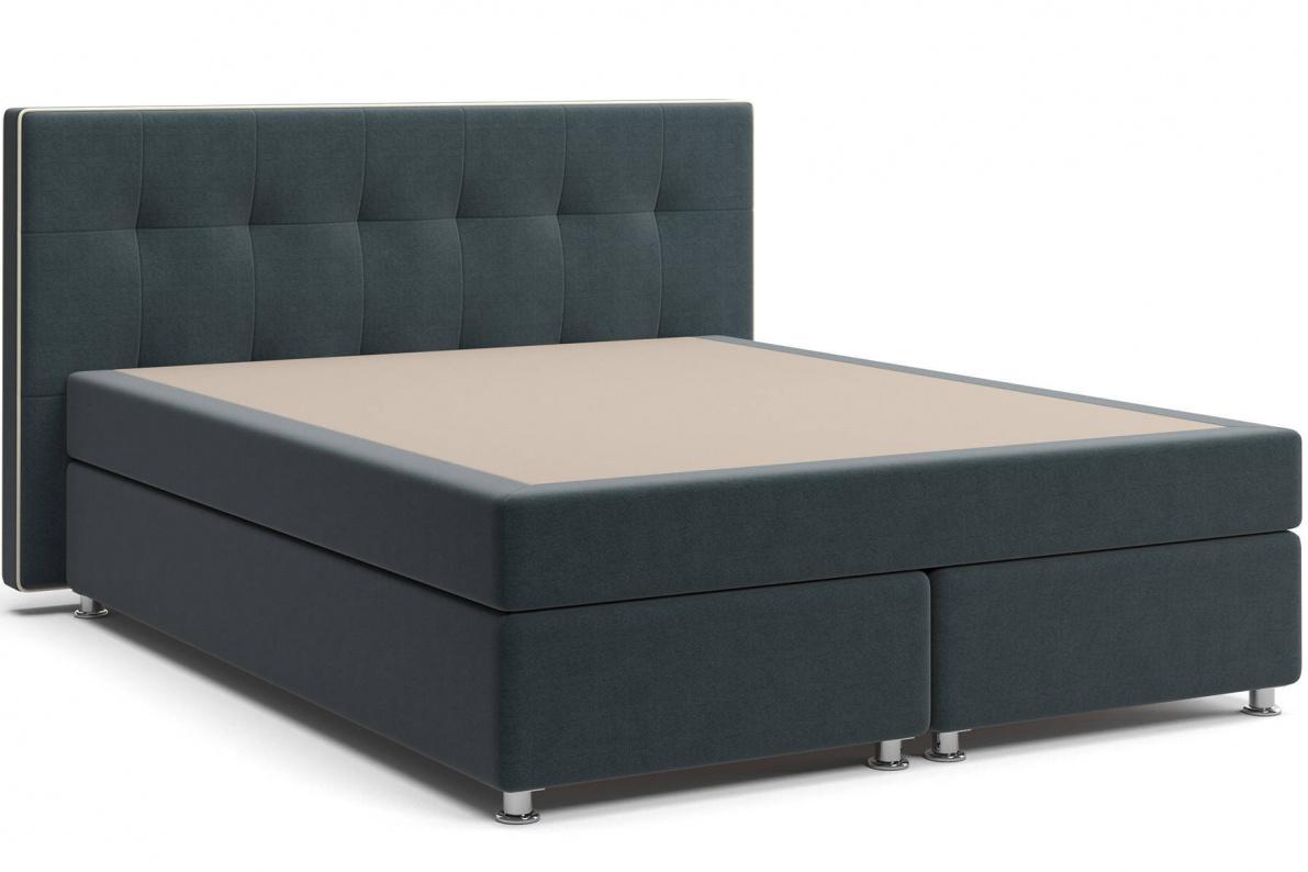 Кровать Николетт Box Spring (с матрасом) Арт: 2018030210117