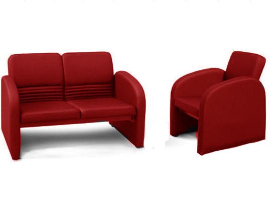 Офисный диван двухместный Статик-2 2д