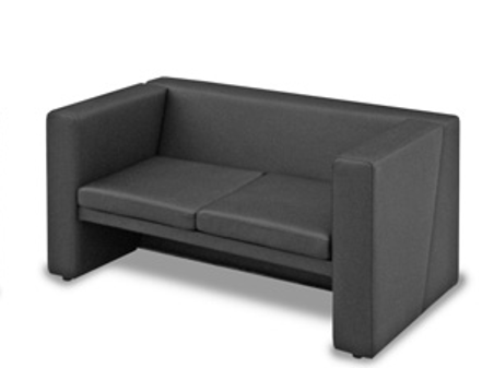 Офисный диван двухместный Статик-3 2д