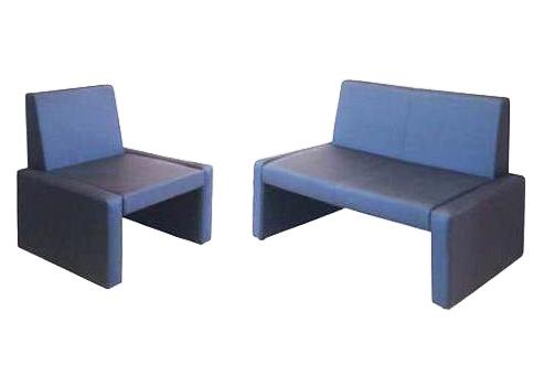 Офисный диван двухместный Статик-6 2д