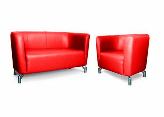 Офисный диван двухместный Статик-11 2д