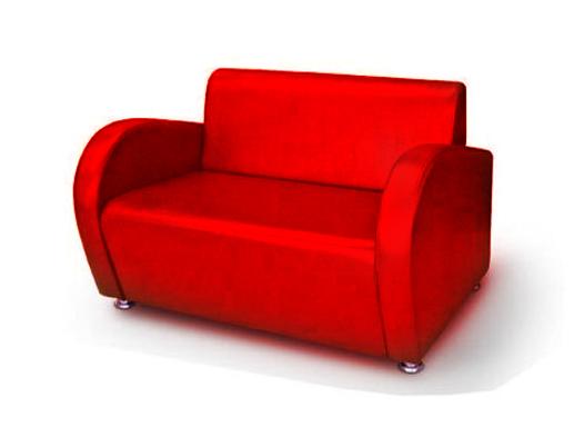 Офисный диван двухместный Статик-12 2д
