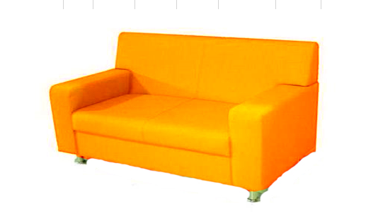 Офисный диван двухместный Статик-17 2д