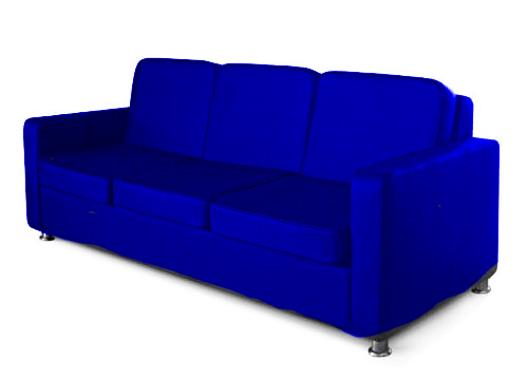 Офисный диван двухместный Статик-18 2д