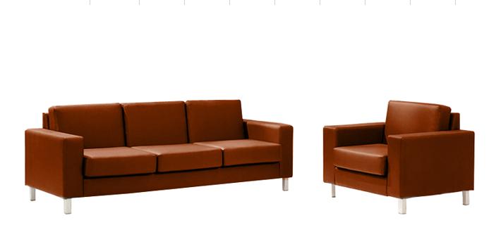 Офисный диван двухместный Статик-30 2д