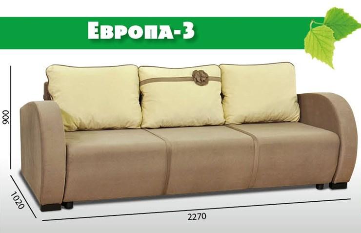 Диван-кровать Европа 3 (ППУ)