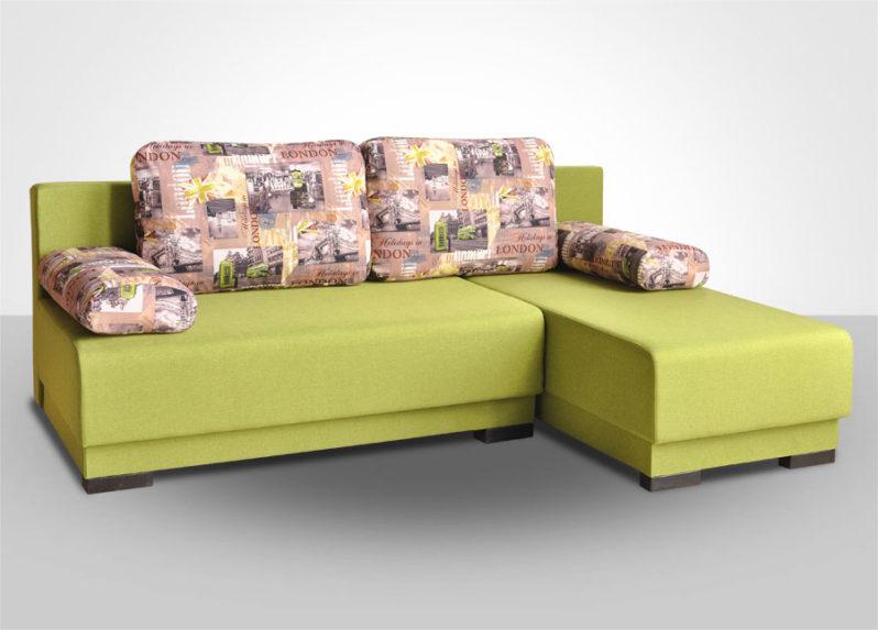 Диван-кровать малый угловой Комбо 1 (МДУ)