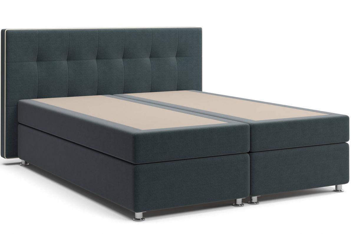 Кровать Николетт Box Spring (с матрасом) Арт: 2018020200117